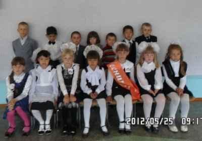 Вот и окончен первый школьный класс!